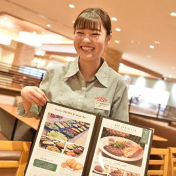 フレンドリーな雰囲気のレストランで働いてみませんか?メニューがお得に楽しめる食事補助も魅力です